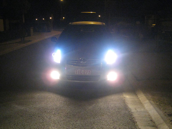 Xenon look lampen test